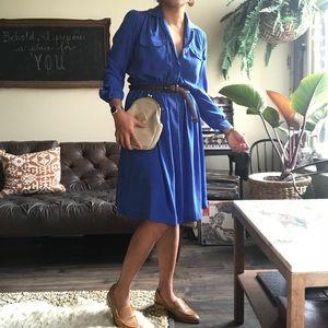 Dresses & Skirts - Cobalt blue vintage dress